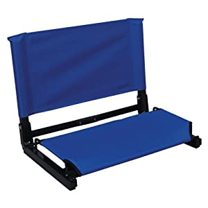 The Stadium Chair Co The Patented StadiumChair - Blank (Color: Royal) Sold Per EACH by The Stadium Chair Co