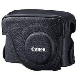 Canon PSC-5200 Deluxe Leather Case for Canon Powershot G10 Digital Camera
