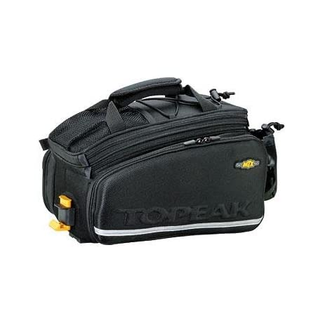Topeak MTX Bicycle Trunk Bag DXP w/ Rigid Molded Panels - Black - TT9635B
