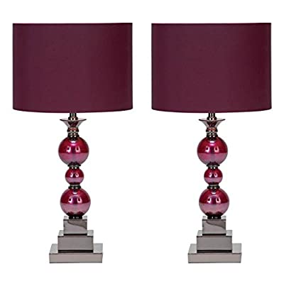 Aspire Home Accents Bennie Table Lamp Set