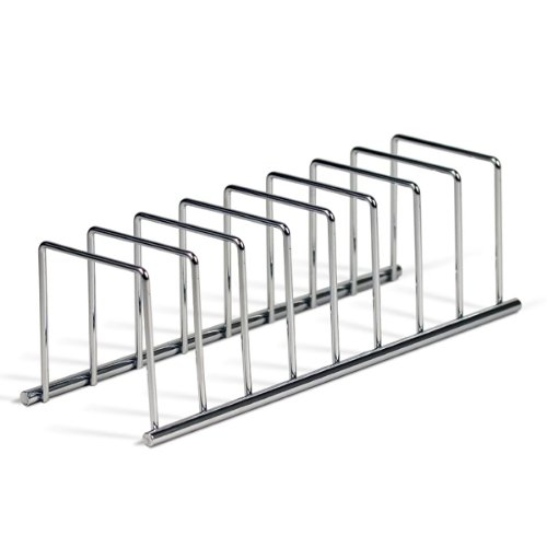 Spectrum Diversified 32070 Euro Lid Organizer, Plate Rack, Chrome (Pot Pan Holder Rack compare prices)