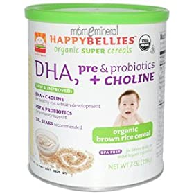 Happybellies Brown Rice Cereal (6 7oz) by HAPPYBABY