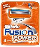 Gillette Fusion Power Razor Blades 4-pack