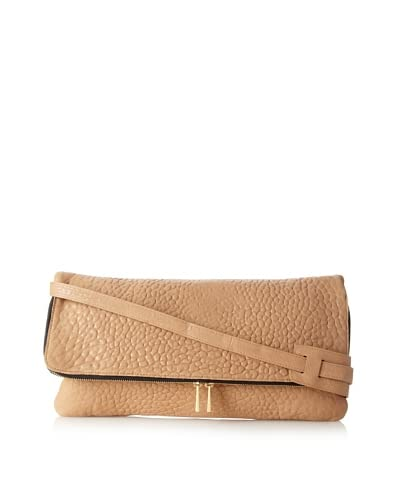 Me Char Women's Oversized Brigid Pouch, Nude As You See