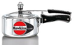 Hawkins Classic Aluminum Pressure Cooker, 2 Litres