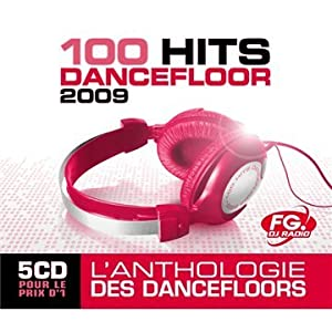 D couvrez 100 hits dancefloor 2009 coffret 5 cd multi for 100 hits dance floor