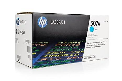 Cartouche de Toner De Marque HP CE401A CE401A507A - 1x Cyan - 6000 pages