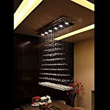 Modern fashion crystal pendant lights contracted lamps and lanterns lighting dining room