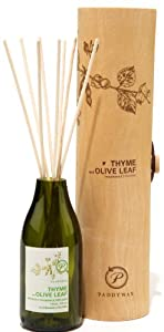 Paddywax Eco Green Fragrance Diffuser, Thyme and Olive Leaf