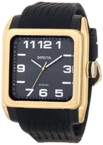 Invicta Invicta 16499 Mens BLU Analog Display Swiss Quartz Black Watch