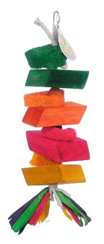 Cheap Pink Parrot Stack 'em Up Pine Wood Blocks, Large (BPI33481)