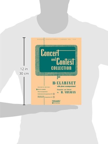 Concert and Contest Collection for Bb Clarinet: With Piano Accompaniment (Rubank Educational Library)