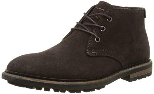 Calvin Klein Tezer Suede, Stivaletti alla caviglia, imbottitura leggera uomo, colore marrone, taglia 42.5