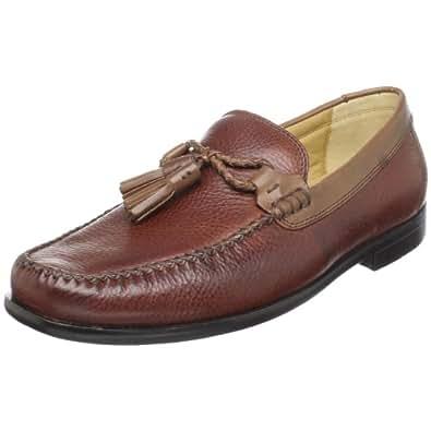Amazon.com Brass Boot Menu0026#39;s Malaga LoaferChestnut/brown10 W US Shoes