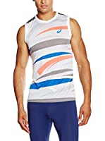 Asics Camiseta Tirantes M'S Graphic Sleeveless (Blanco)