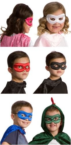 Little Adventures Superhero Costume Mask for Kids