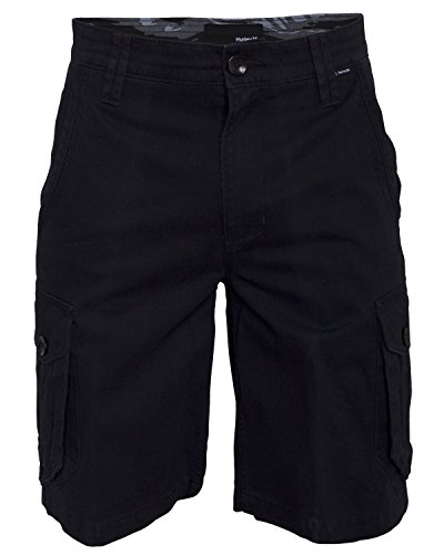 Hurley BWS0000210 Boys One And Only Cargo Walkshorts,Black,27