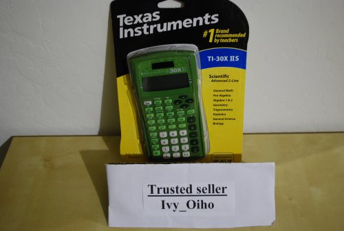 Texas Instruments TI-30XIIS Green (Lime Color)