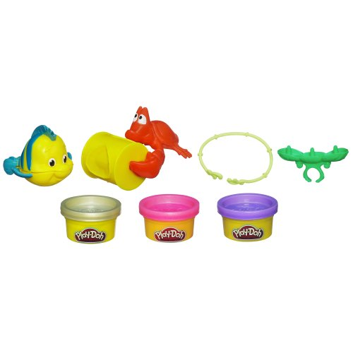 Play-Doh Disney Princess Ariel's Jewels and Gems Set - 1
