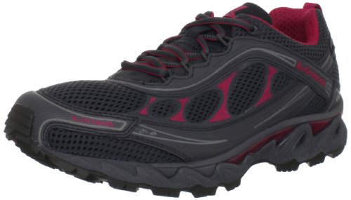 Lowa Women's S-Crown Mesh Trail Running Shoe,Anthracite/Fuschia,7.5 M US