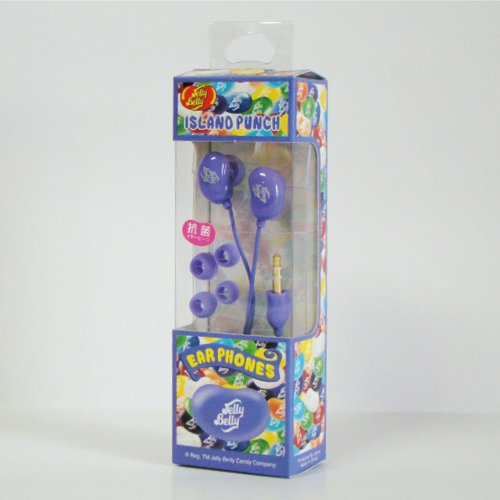 Pleasant Company Jelly Belly Canal Earphone Island Punch Ipu (Japan Import)