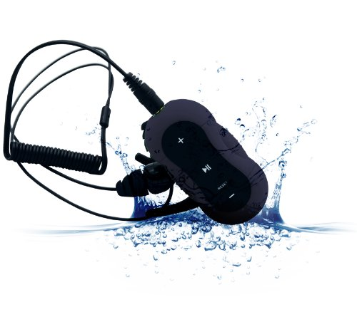 Aerb® 4G Waterproof Mp3 Music Player For Swimming & Other Sports (Ipx-8 Standard) (Black)