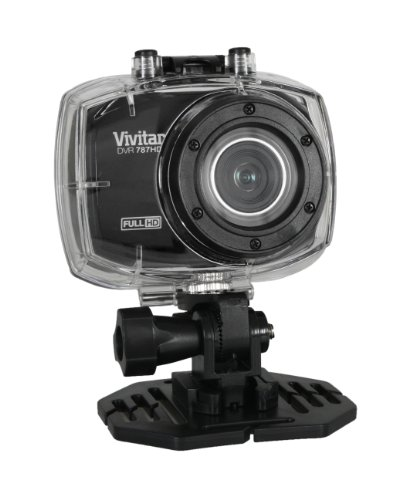 Vivitar DVR786HD Action Digital Video Camera, Colors May Vary