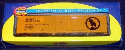 Athearn 7105 Great Northern WFCX 8885 Reefer Car