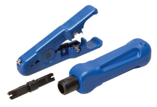 DataShark 70017 Punchdown Tool Bundle with Universal Cutter/Stripper and Non-Impact Punchdown Tool