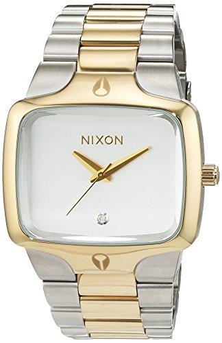 nixon-a1401431-00-montre-homme-quartz-analogique-bracelet-acier-inoxydable-blanc