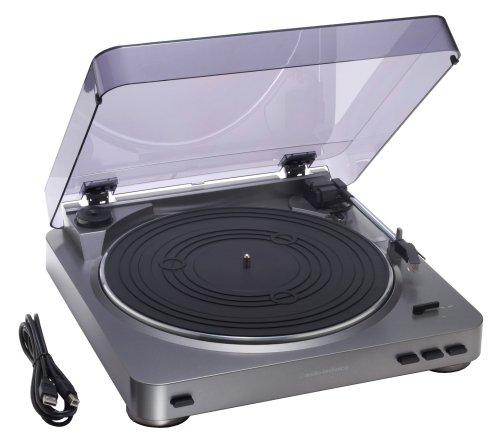【Amazonの商品情報へ】audio-technica ステレオターンテーブルシステム AT-PL300USB