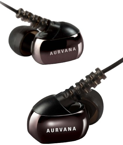 Creative Aurvana In-Ear3 Noise Isolating Earphones with Travel Case and Cable Holder