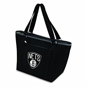 NBA Brooklyn Nets Topanga Insulated Cooler Tote by Picnic Time