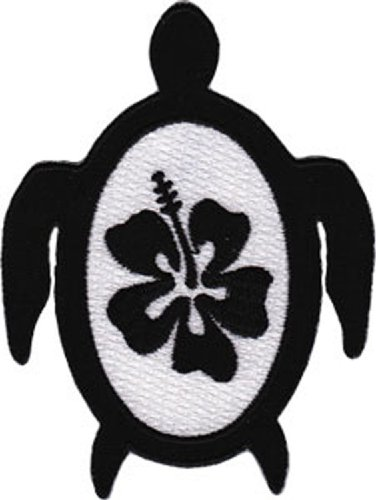 Application Turtle with Hibiscus Patch