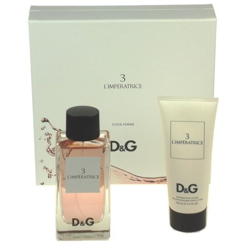 Compare Prices DOLCE GABBANA 3 WOMAN L IMPERATRICE EAU DE TOILETTE 100VP  BODY MILK 100ML 96c122b002bd