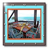 dpp_12940_1 Susan Brown Designs General Themes - Patio Dining - Wall Clocks - 10x10 Wall Clock