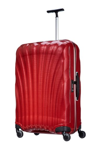 Samsonite, Cosmolite, Spinner Trolley 75 cm 4 ruote, Rosso
