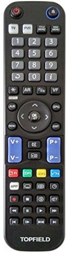Original Fernbedienung Topfield TP 850 schwarz für SRP-2401CI+ Smart Pro, CRP-2401 CI+ Conax