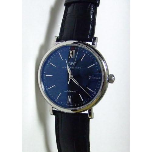 [アイダブリューシー]IWC 腕時計 ポートフィノ ブラック 黒クロコ 自動巻き IW356502 メンズ 【並行輸入品】