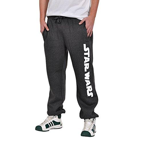 Star Wars - Pantaloni da jogging con logo del film - Con licenza - Grigio - XXL