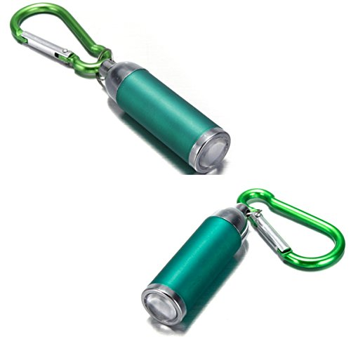 1Pc Virtuoso Chic Mini Keychain LED Flashlight Micro-Light Pocket Torch Small Gift Colors Green (Small Block Chevy Key Chain compare prices)