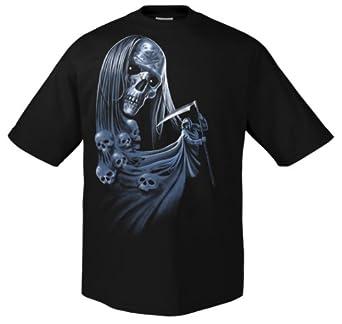 Rock Style Blue Death 700127 T-shirt 001 S