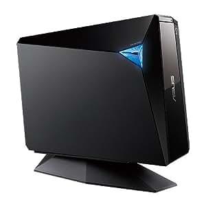 ASUS External 12X Blu-Ray Burner with USB 3.0 BW-12D1S-U/BLK/G/AS, Black