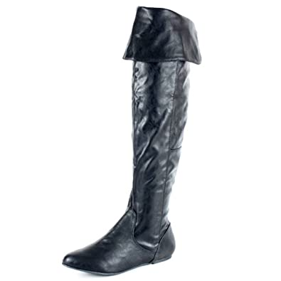 79877d3a8977c Qupid PROUD-09 Cuff Over the Knee Thigh High or Knee High Slouchy ...