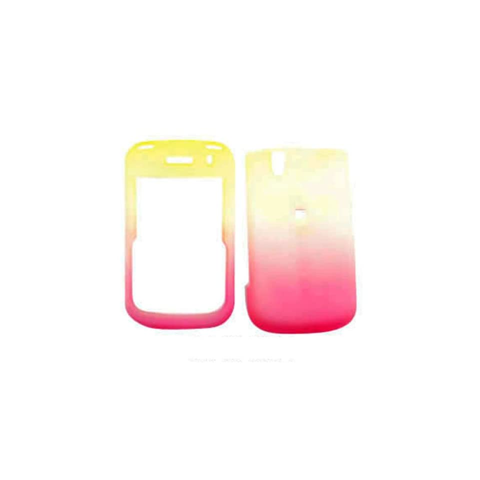 Blackberry Tour/bold 9650 9630 Yellow White Pink Frost Case Accessory Snap on Protector