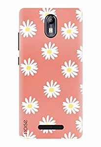 Noise Designer Printed Case / Cover for Micromax Canvas Evok E483 / Nature / Lazy Daisies Design