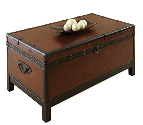 Steve Silver Company Voyage Trunk Style Cocktail Table 0