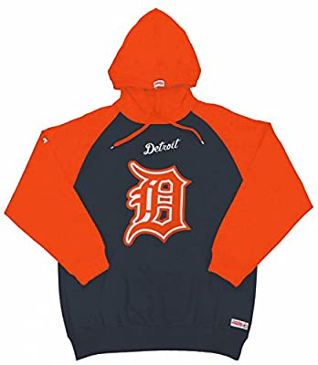 MLB Detroit Tigers Youth Big Logo Pullover Hood