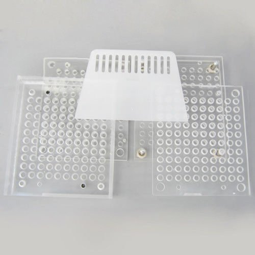 A-Product New Capsule Filler Capsule Filling Machines 100 Hole Size 00 0 1 2 3 4 5 (100 Holes For 4#)