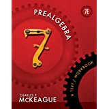 Prealgebra: A Text/Workbook (Textbooks Available with Cengage Youbook) ~ Charles P. McKeague